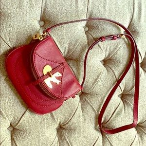 Wine colored Marc Jacobs cross body